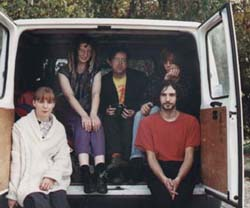Ruth's Refrigerator in the back of a van (in Germany in 1991)